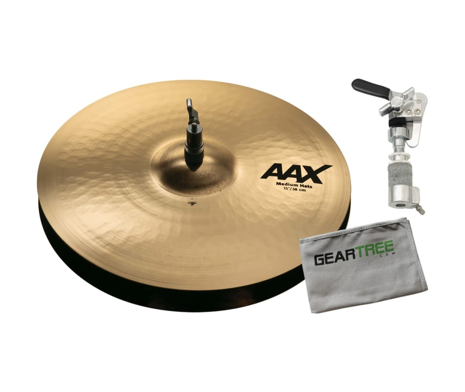 Sabian 21502XCB AAX 15'' Medium Hi Hats Brilliant