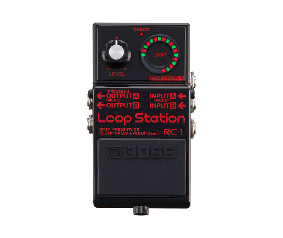 RC-1BK Loop Station Pedal Black Special Edition