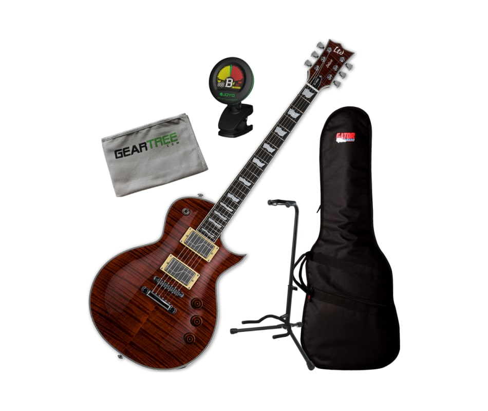 ESP LTD EC-1000FM Fluence Tiger Eye Electric Guita