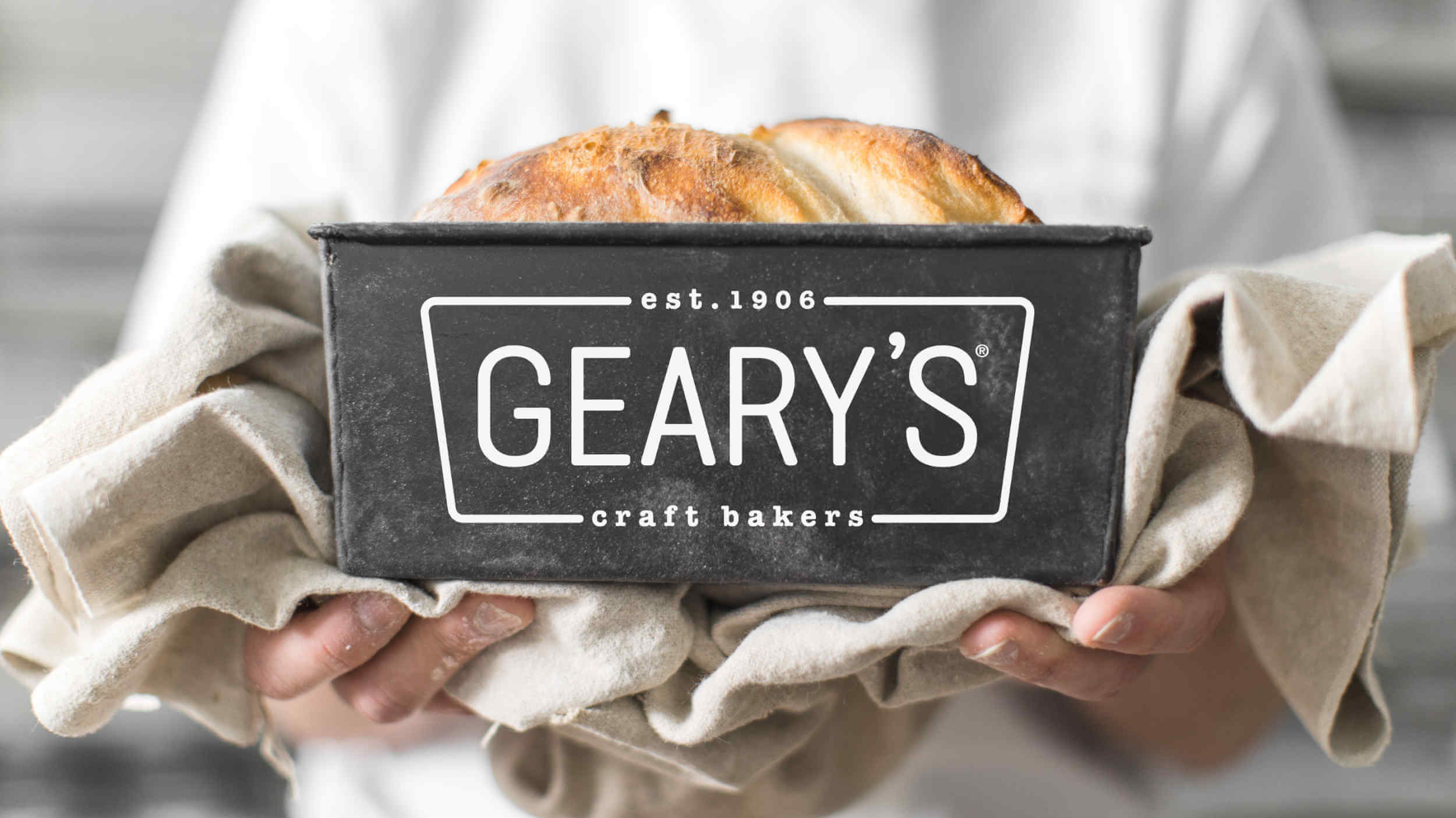Geary's rebrands and launches a new website