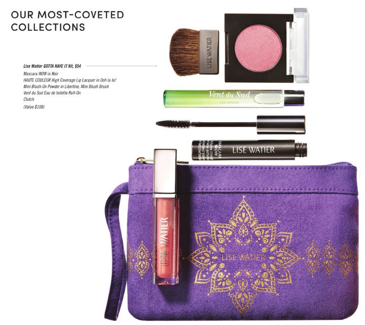 Shoppers Drug Mart: Lise Watier Gotta Have It kit