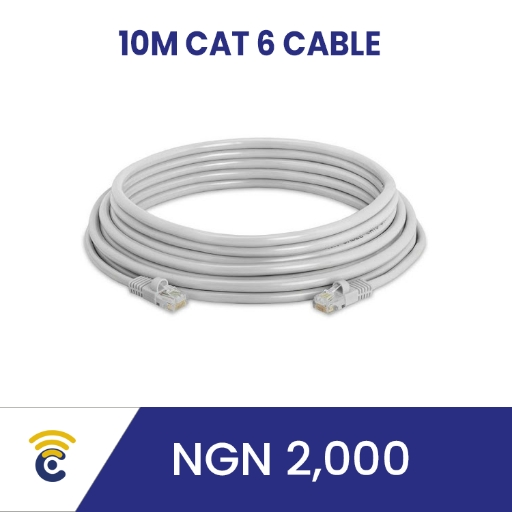 Original 10m CAT 6 Network Cable