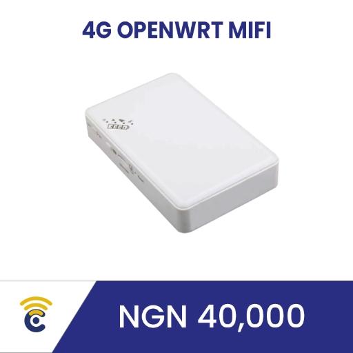 4G OpenWRT MiFi [-USD 95.00]