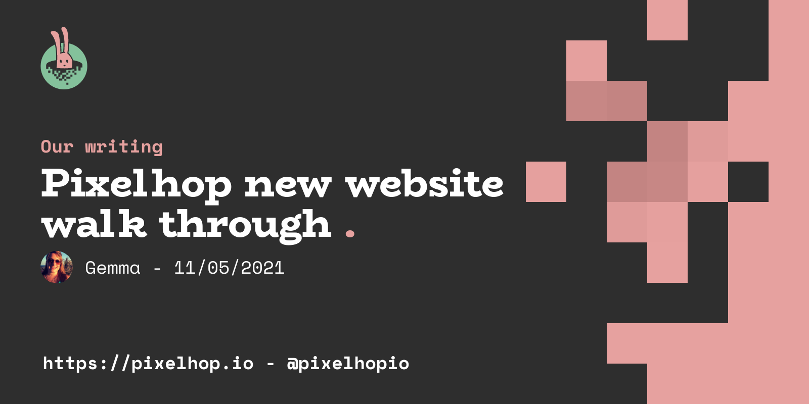 Pixelhop new website walk through