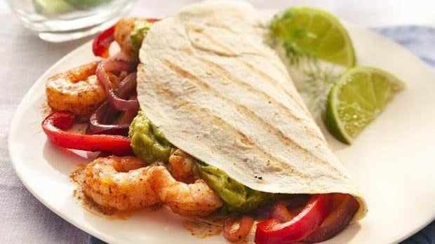 fajitas-mit-grillierten-shrimps