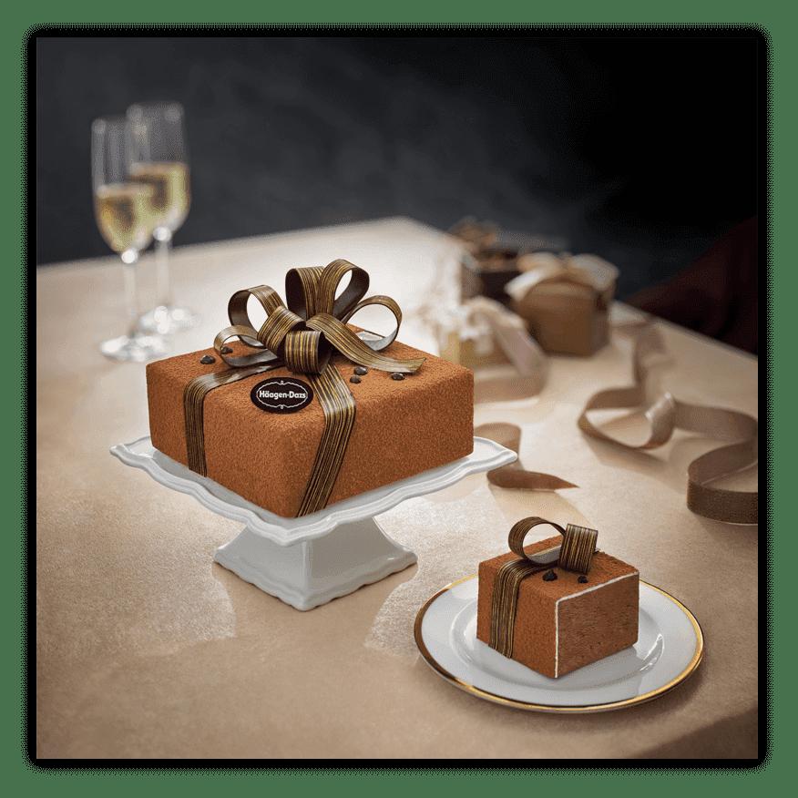 Groovy Perfect Gift Ice Cream Cakes Haagen Dazs Personalised Birthday Cards Akebfashionlily Jamesorg