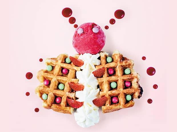 Butterfly Waffle 620×460