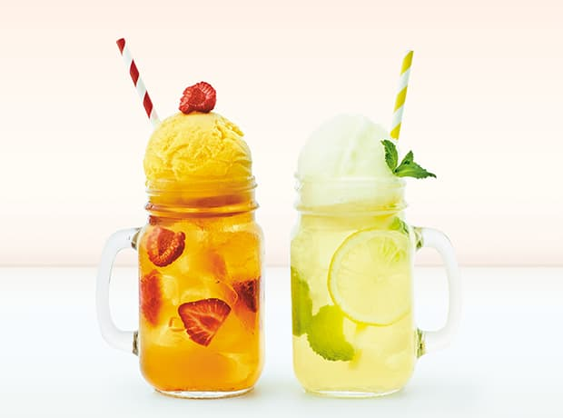 Both Sorbet Iced Teas