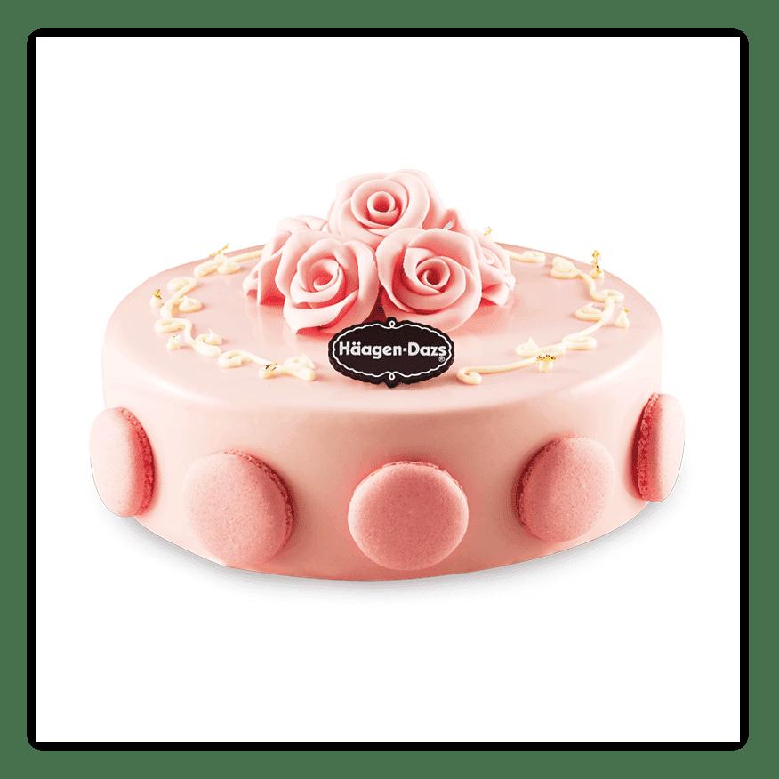 Awe Inspiring Rose Whisper Ice Cream Cakes Haagen Dazs Personalised Birthday Cards Akebfashionlily Jamesorg