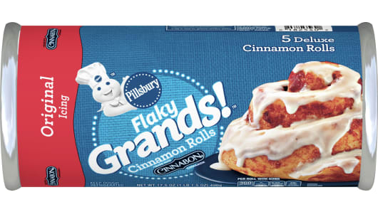 Pillsbury™ Grands!™ Flaky Cinnamon Rolls with Original Icing - Front