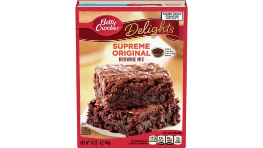 Betty Crocker™ Supreme Original Brownie Mix - Front