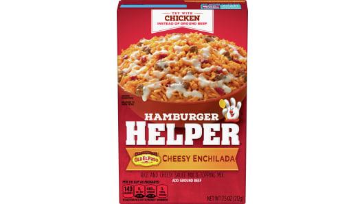 Cheesy Enchilada - Front