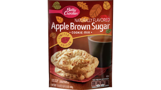 Betty Crocker Apple Brown Sugar Cookie Mix - Front