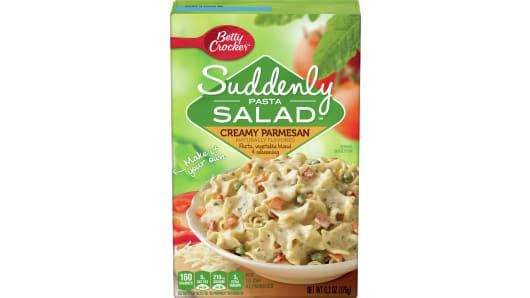 Suddenly Pasta Salad™ Creamy Parmesan - Front