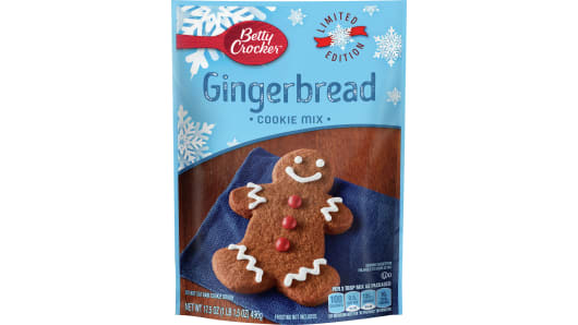 Betty Crocker™ Limited Edition: Gingerbread Cookie Mix - Front