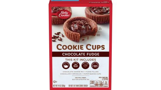 Betty Crocker Cookie Cups - Chocolate Fudge - Front
