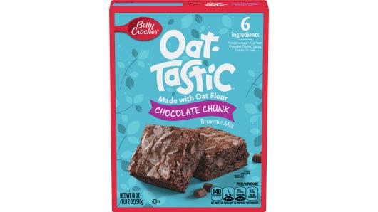 Betty Crocker Oat-Tastic Chocolate Chunk Brownie Mix - Front