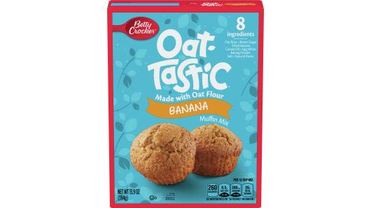Betty Crocker Oat-Tastic Banana Muffin Mix - Front