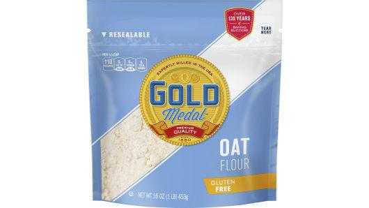 Gold Medal Oat Flour - Front