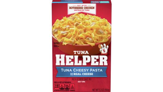 Tuna Cheesy Pasta Tuna Helper - Front