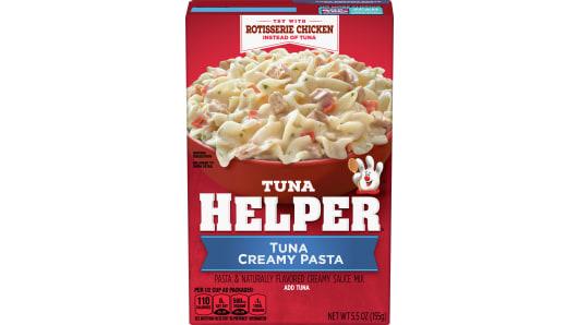 Tuna Creamy Pasta - Front