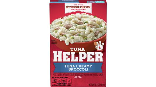 Tuna Creamy Broccoli - Front