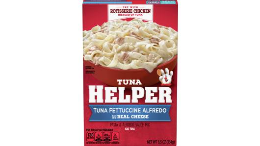 Tuna Helper Tuna Fettuccine Alfredo - Front