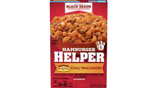 Chili Macaroni Hamburger Helper - Front