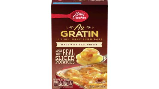 Betty Crocker Au Gratin Potatoes - Front