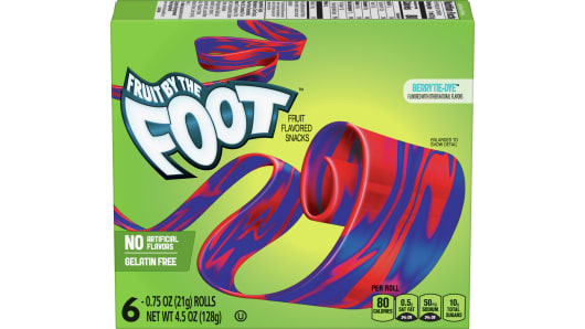 Fruit by the Foot™ Berry Tie-Dye - Front