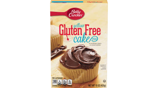 Betty Crocker™ Gluten Free Yellow Cake Mix - Front