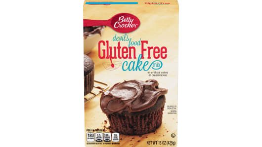 Betty Crocker™ Gluten Free Devil's Food Cake Mix - Front