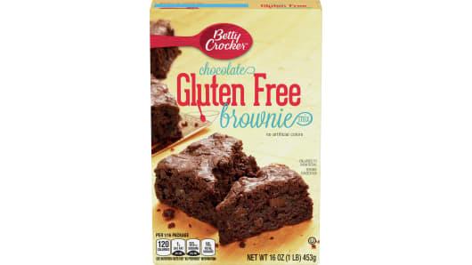 Betty Crocker™ Gluten Free Chocolate Brownie Mix - Front