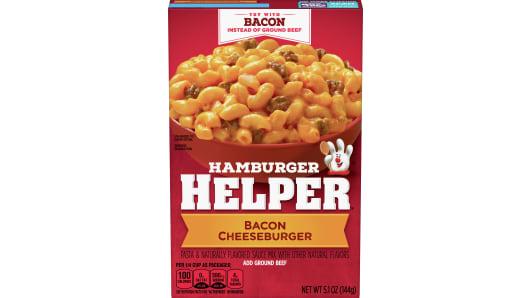 Bacon Cheeseburger - Front