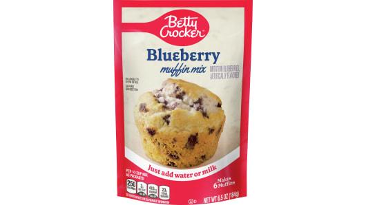 Betty Crocker™ Blueberry Pouch Muffin Mixes - Front