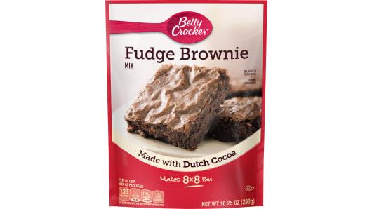 Betty Crocker™ Fudge Pouch Brownie Mix - Front