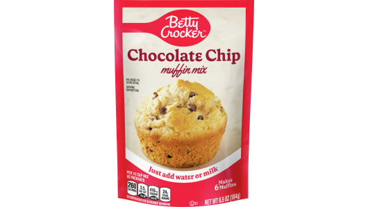 Betty Crocker™ Chocolate Chip Pouch Muffin Mixes - Front