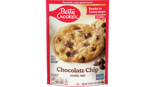 Betty Crocker™ Chocolate Chip Cookie Mix - Front