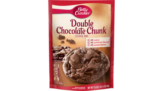 Betty Crocker™ Double Chocolate Chunk Cookie Mix - Front
