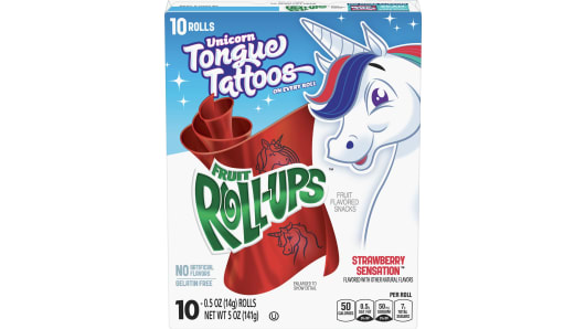 Fruit Roll-Ups™ Strawberry Sensation - Front