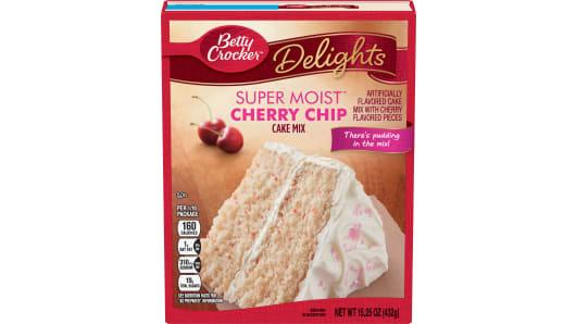 Betty Crocker™ Super Moist™ Delights Cherry Chip Cake Mix - Front