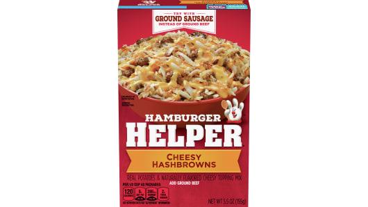 Cheesy Hashbrowns Hamburger Helper - Front