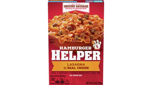 Lasagna Hamburger Helper - Front