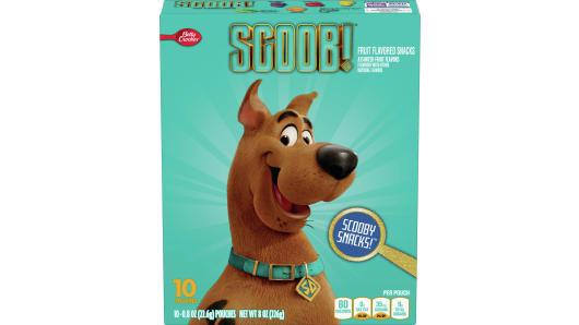 Betty Crocker™ Fruit Flavored Snacks Scooby Doo - Front