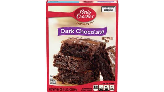 Betty Crocker™ Dark Chocolate Brownie Mix - Front