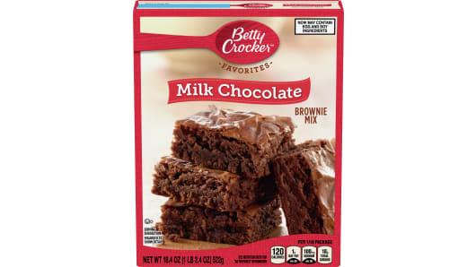 Betty Crocker™ Milk Chocolate Brownie Mix - Front