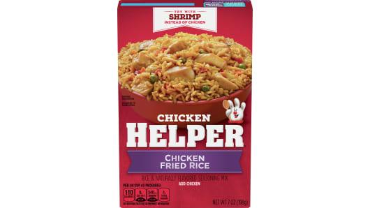 Chicken Helper Chicken Fried Rice Dry Dinner Mix - Front