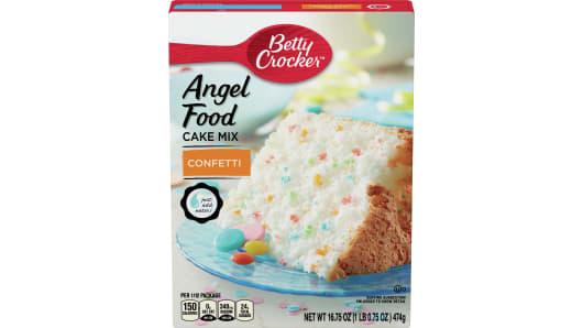Betty Crocker™ Confetti Angel Food Cake Mix - Front
