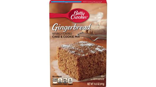 Betty Crocker™ Gingerbread Cake Mix - Front
