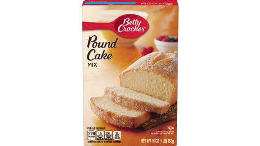 Betty Crocker™ Pound Cake Mix - Front